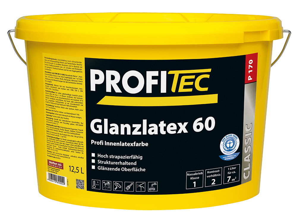 P 170 Glanzlatex 60